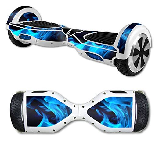 Blue-flame-protective-vinyl-for-hoverboard