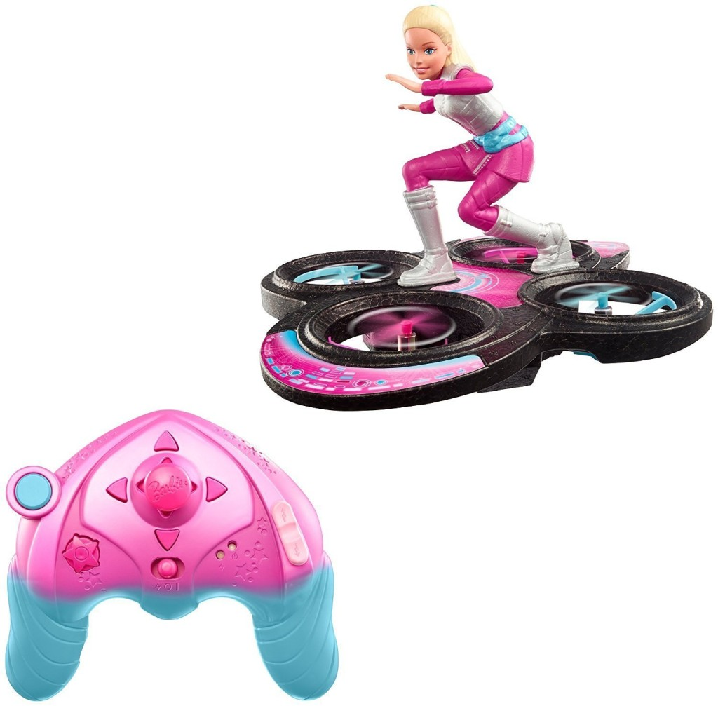 Barbie-hoverboard