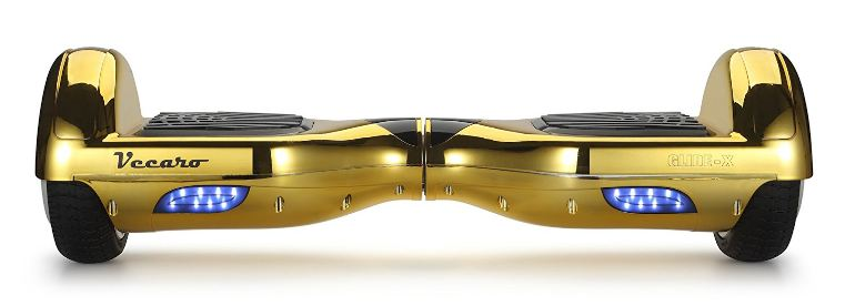 Vecaro-GlideX-hoverboard-gold